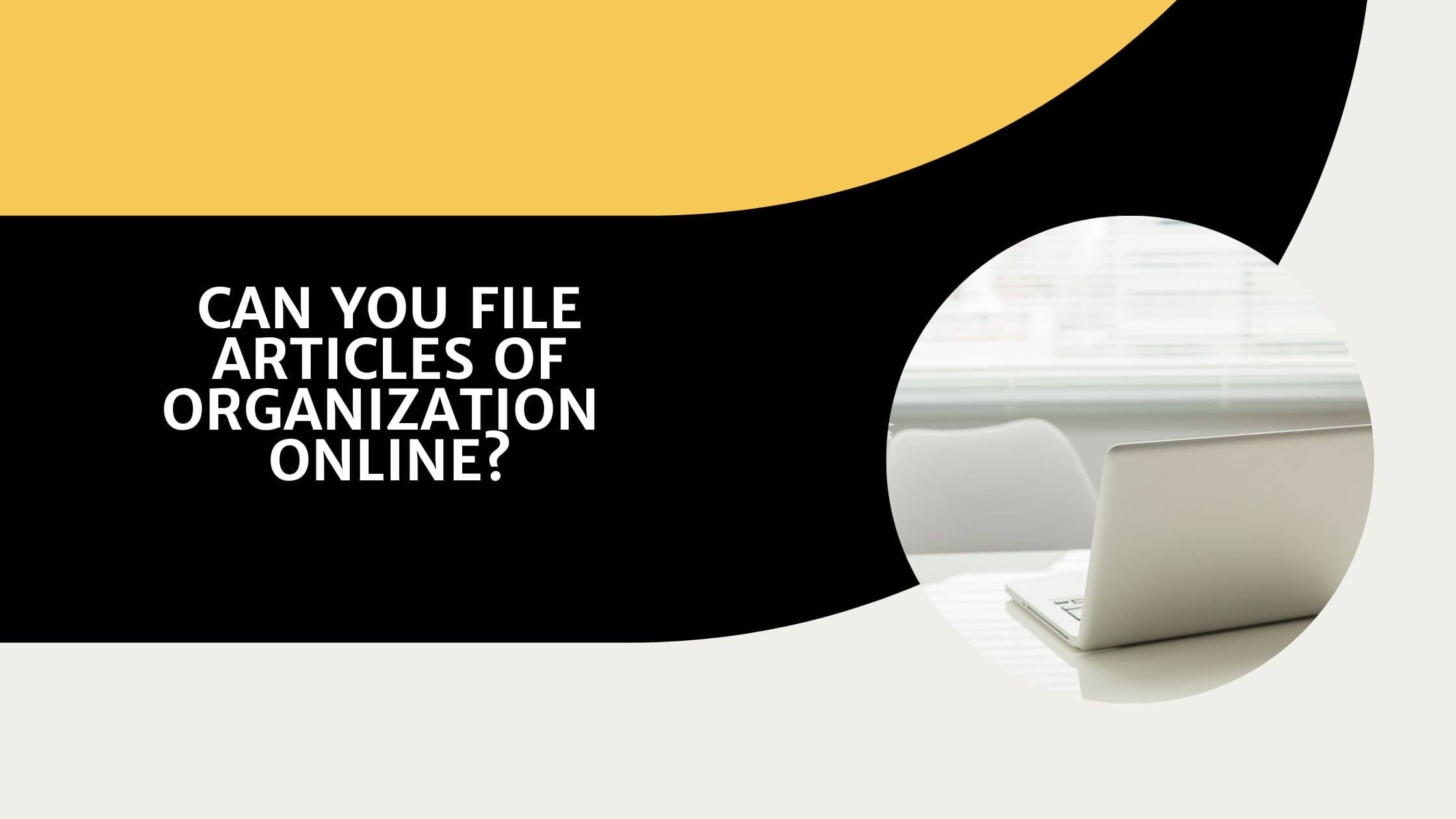 Can I File Articles of Organization Online?