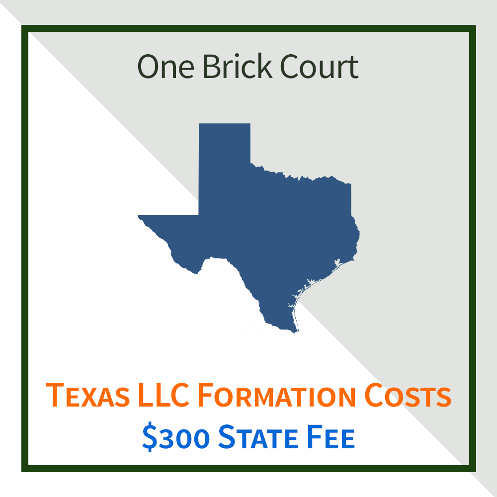 Texas LLC Costs