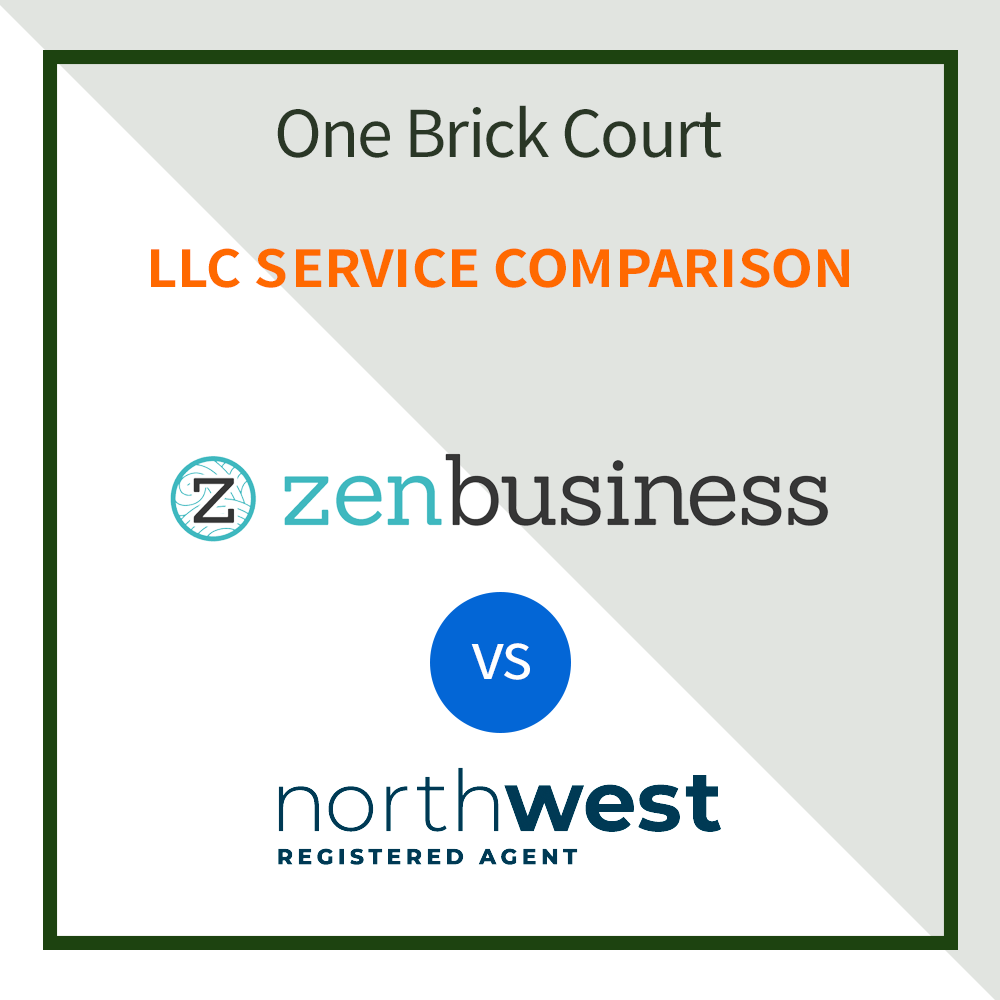 ZenBusiness vs Northwest Registered Agent
