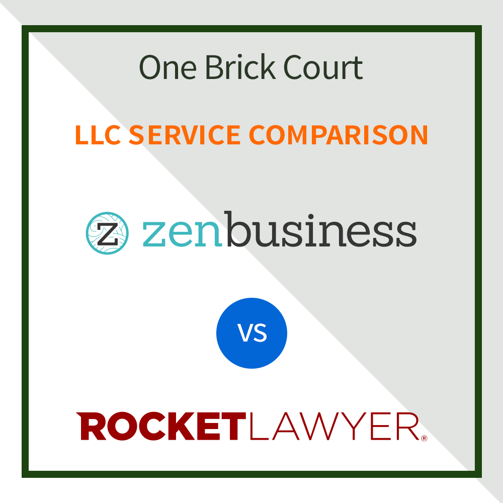 ZenBusiness vs Rocket Lawyer